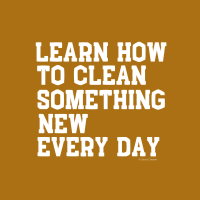 467 Clean Something New Savvy Cleaner Funny Cleaning Shirts B