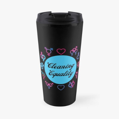 Cleaning Equality Savvy Cleaner Funny Cleaning Gifts Travel Mug