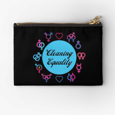 Cleaning Equality Savvy Cleaner Funny Cleaning Gifts Zipper Pouch