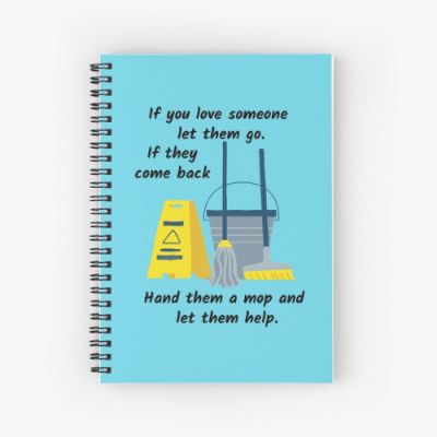 Let Them Go Savvy Cleaner Funny Cleaning Gifts Shower Curtain