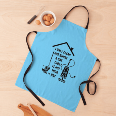 Not Your Day Savvy Cleaner Funny Cleaning Gifts Apron