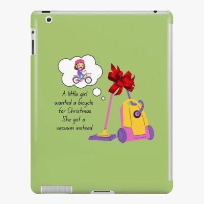 Wanted a Bicycle Savvy Cleaner Funny Cleaning Gifts iPad Snap Case