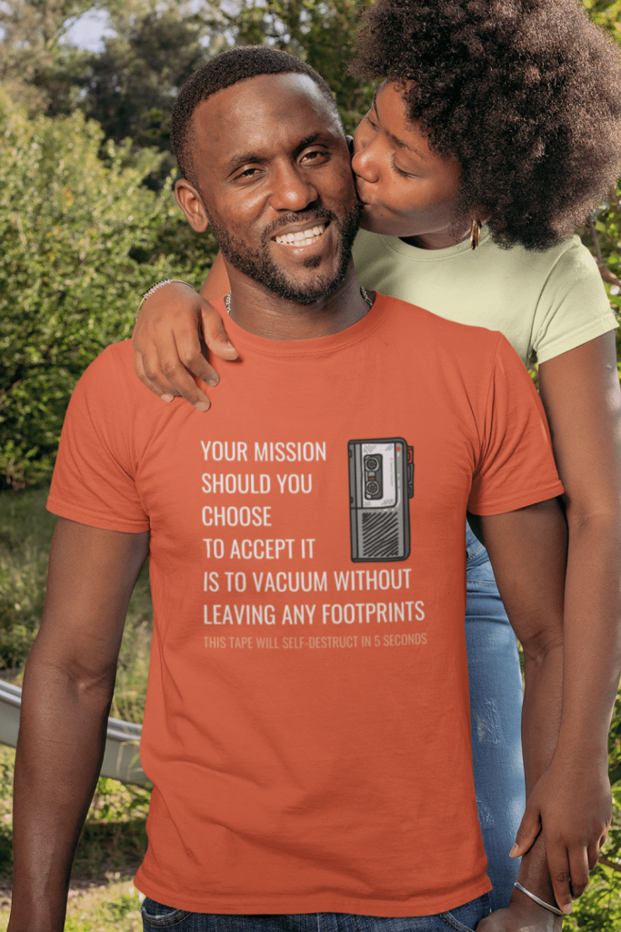 Your Mission Savvy Cleaner Funny Cleaning Shirts Men's Standard Tee