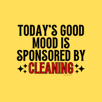 476 Sponsored by Cleaning Savvy Cleaner Funny Cleaning Shirts A