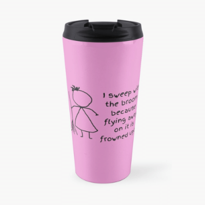 Frowned Upon Savvy Cleaner Funny Cleaning Gifts Travel Mug