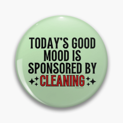 Sponsored by Cleaning Savvy Cleaner Funny Cleaning Gifts Pin
