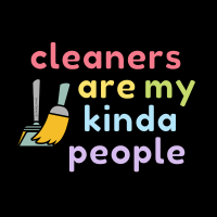 509 My Kind of People Savvy Cleaner Funny Cleaning Shirts Enlarge (1)