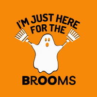 526 Here for the Brooms Savvy Cleaner Funny Cleaning Shirts A