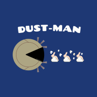 529 Dust Man Savvy Cleaner Funny Cleaning Shirts B