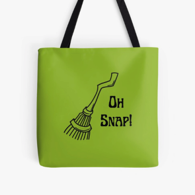 Oh Snap Savvy Cleaner Funny Cleaning Gifts Print Tote