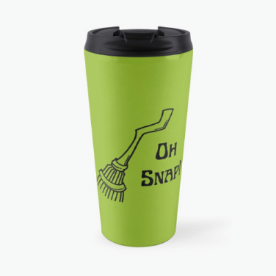 Oh Snap Savvy Cleaner Funny Cleaning Gifts Travel Mug