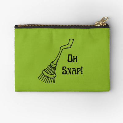 Oh Snap Savvy Cleaner Funny Cleaning Gifts Zipper Pouch