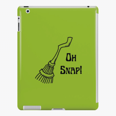 Oh Snap Savvy Cleaner Funny Cleaning Gifts iPad Snap Case