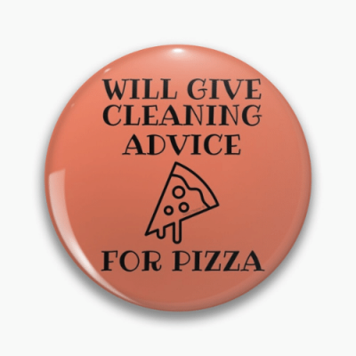Will Give Cleaning Advice Savvy Cleaner Funny Cleaning Gifts Pin