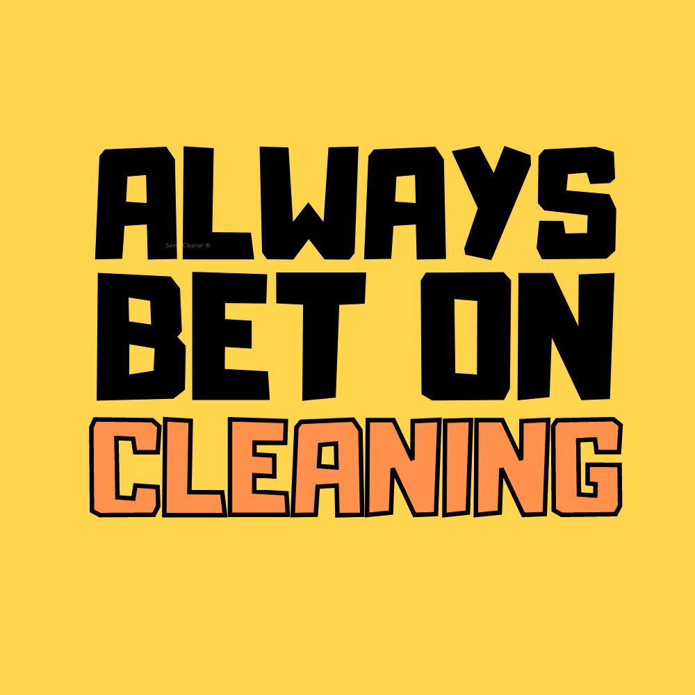 549 Always Bet on Cleaning Savvy Cleaner Funny Cleaning Shirts A