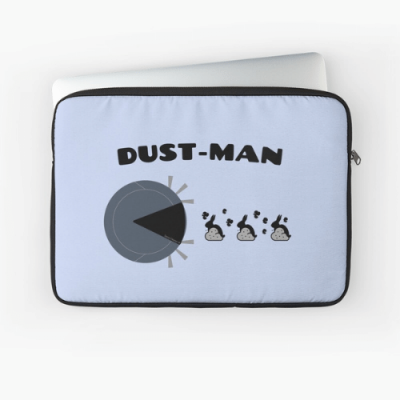 Dust Man Savvy Cleaner Funny Cleaning Gifts Laptop Sleeve