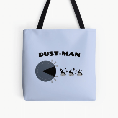 Dust Man Savvy Cleaner Funny Cleaning Gifts Print Tote