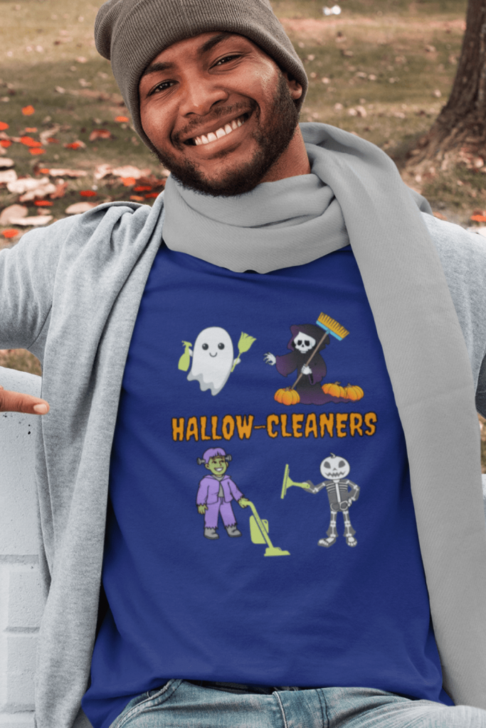 Hallow-Cleaners Savvy Cleaner Funny Cleaning Shirts Men's Standard T-Shirt