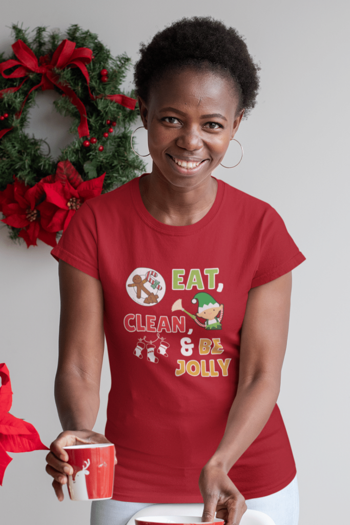 Eat Drink and Be Jolly Savvy Cleaner Funny Cleaning Shirts Classic Tee