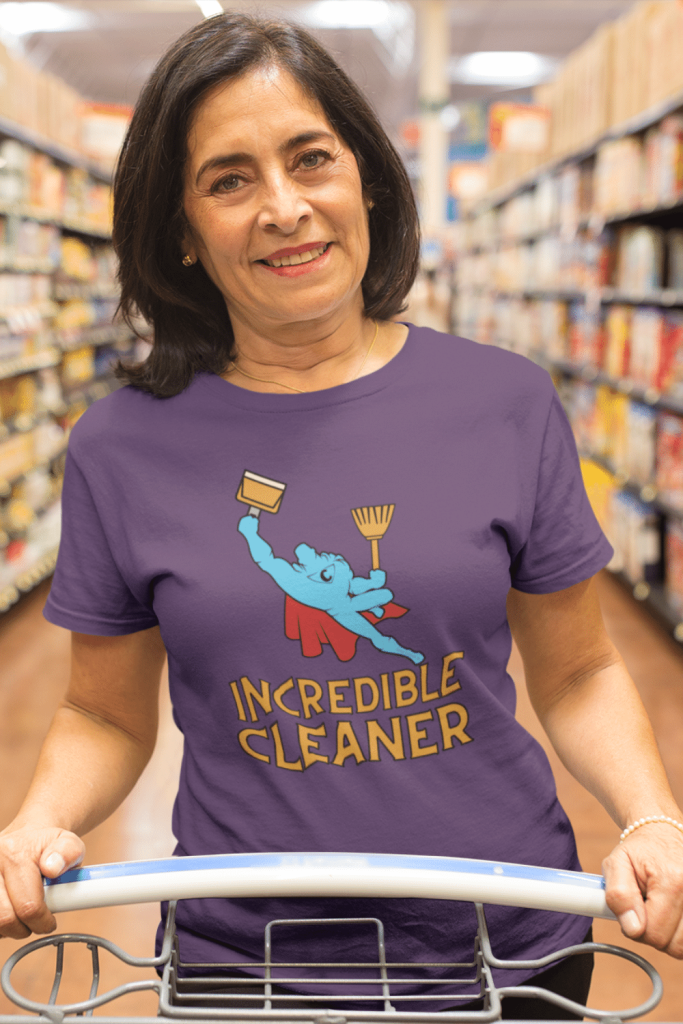 Incredible Cleaner Savvy Cleaner Funny Cleaning Shirts Standard T-Shirt
