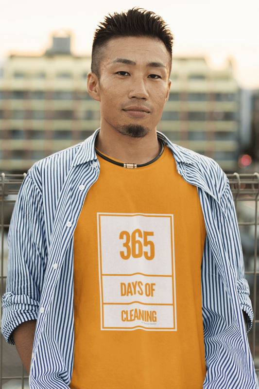 365 Days of Cleaning Savvy Cleaner Funny Cleaning Shirt Classic T-Shirt