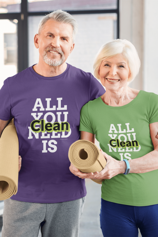 All You Need is Clean Savvy Cleaner Funny Cleaning Shirts Standard Tee