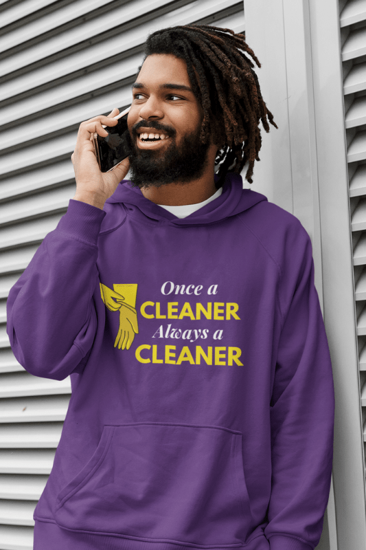 Always a Cleaner Savvy Cleaner Funny Cleaning Shirts Classic Pullover Hoodie