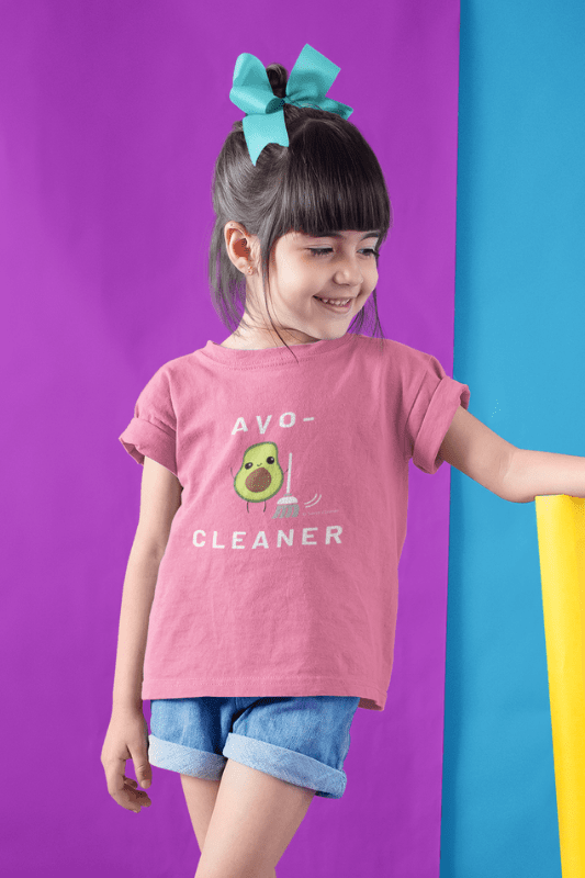 Avo-Cleaner, Savvy Cleaner Funny Cleaning Shirts, Kids Premium T-Shirt