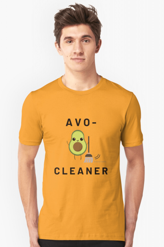 Avo-Cleaner, Savvy Cleaner Funny Cleaning Shirts, Slim Fit shirt