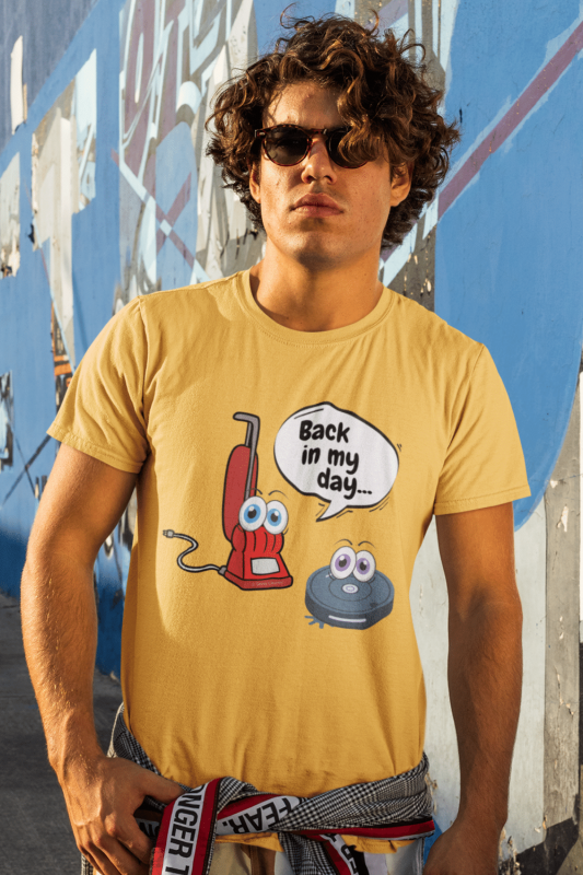 Back in My Day Savvy Cleaner Funny Cleaning Shirts Premium Tee