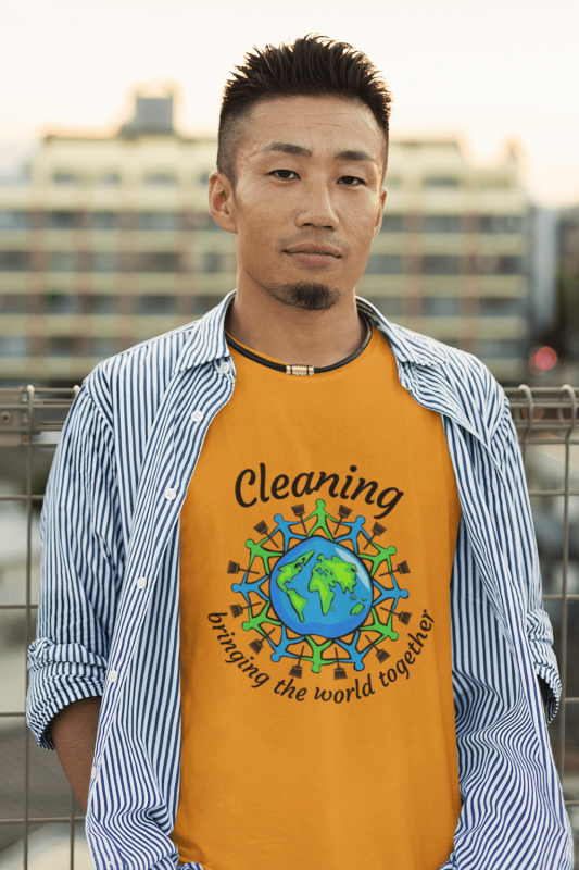 Bringing the World Together Savvy Cleaner Funny Cleaning Shirts Classic T-Shirt