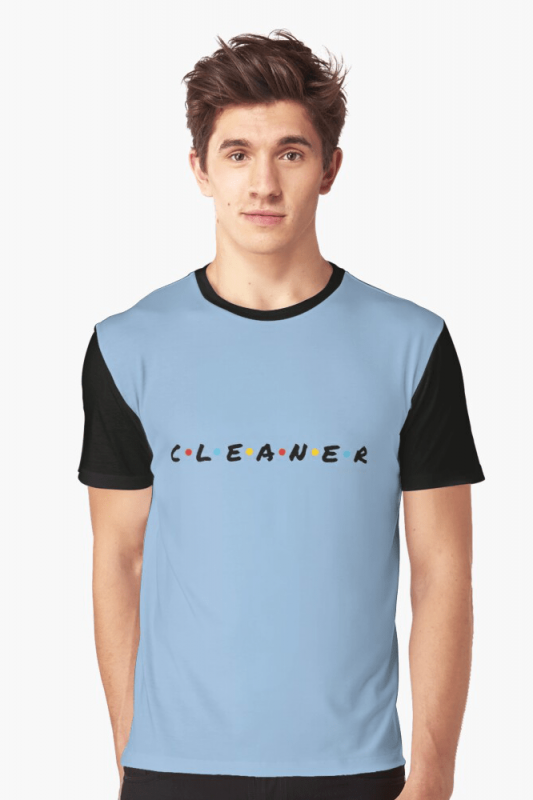CLEANER, Savvy Cleaner Funny Cleaning Shirts, Graphic shirt