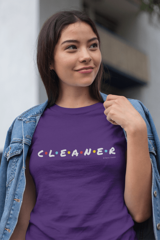 CLEANER, Savvy Cleaner Funny Cleaning Shirts, Women's Classic T-Shirt