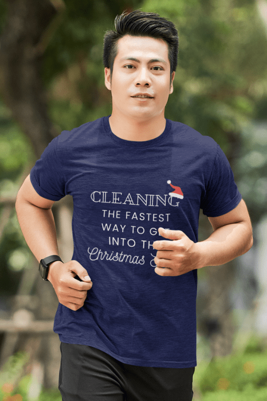 Christmas Spirit, Savvy Cleaner Funny Cleaning Shirts, Classic T-Shirt