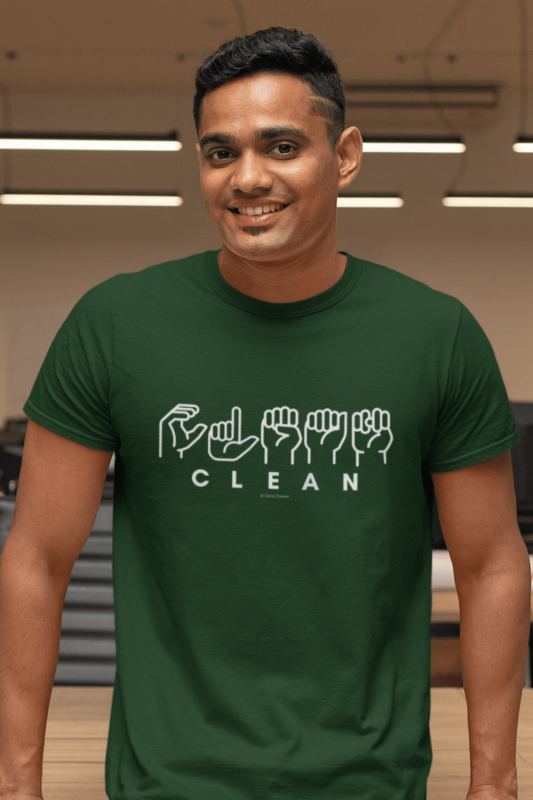 Clean Sign Language Savvy Cleaner Funny Cleaning Shirt Classic T-Shirt