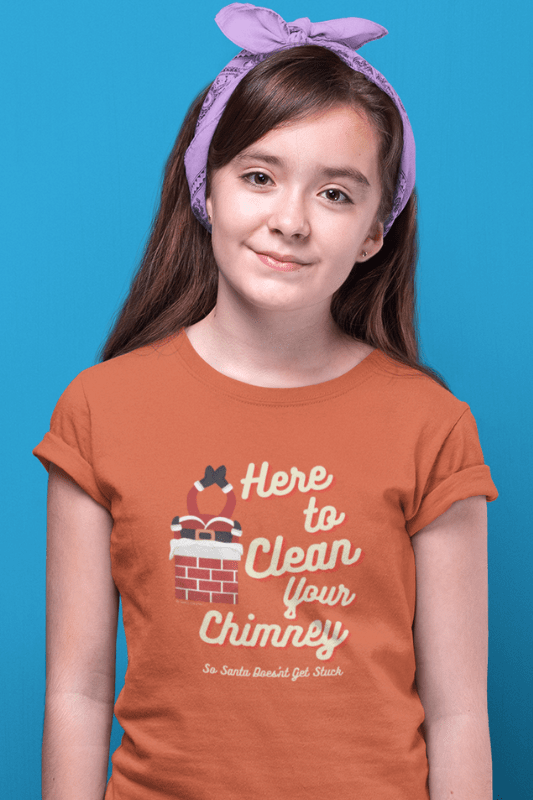 Clean Your Chimney, Savvy Cleaner, Funny Cleaning Shirts, Kids Premium T-Shirt