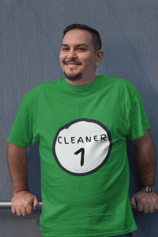Cleaner 1, Savvy Cleaner Funny Cleaning Shirts, Premium T-Shirt