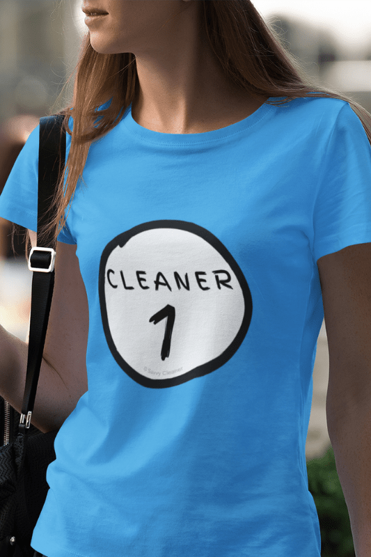 Cleaner 1, Savvy Cleaner Funny Cleaning Shirts, Women's Boyfriend T-Shirt