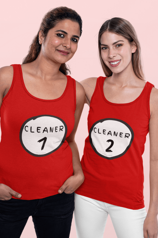 Cleaner 2, Savvy Cleaner Funny Cleaning Shirts, Classic Tank Top