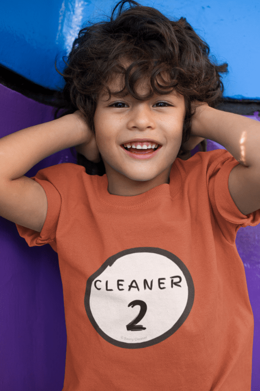 Cleaner 2, Savvy Cleaner Funny Cleaning Shirts, Kids Premium T-Shirt