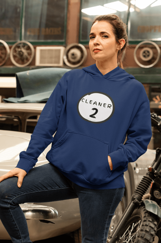 Cleaner 2, Savvy Cleaner Funny Cleaning Shirts, Premium Pullover Hoodie