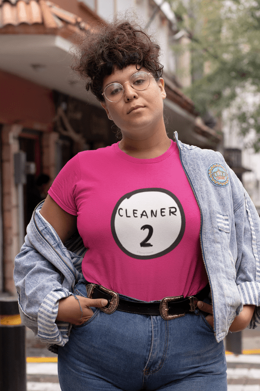 Cleaner 2, Savvy Cleaner Funny Cleaning Shirts, Women's Classic T-Shirt