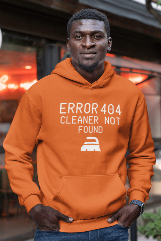 Cleaner Not Found Savvy Cleaner Funny Cleaning Shirts Classic Pullover Hoodie