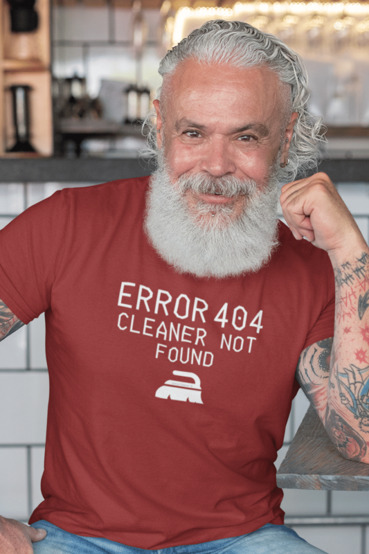 Cleaner Not Found Savvy Cleaner Funny Cleaning Shirts Men's Standard T-Shirt