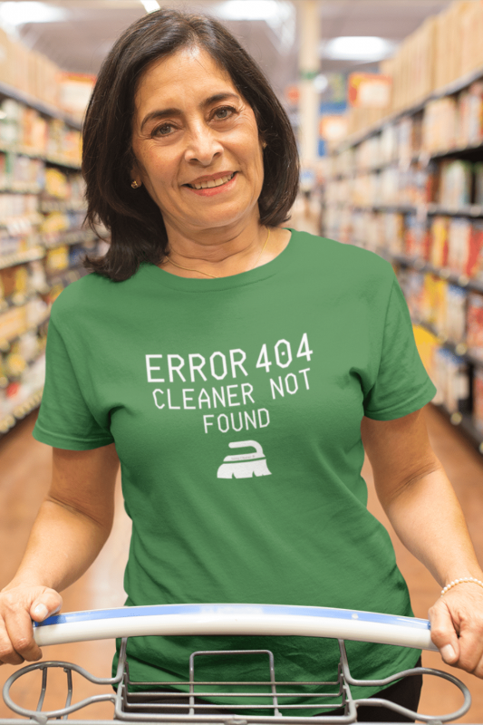Cleaner Not Found Savvy Cleaner Funny Cleaning Shirts Standard T-Shirt