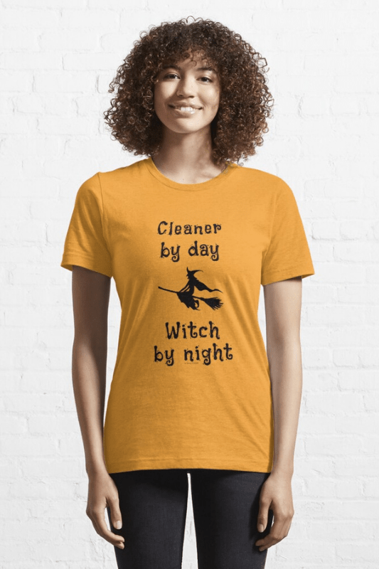 Cleaner by Day Savvy Cleaner Funny Cleaning Shirts Classic Tee
