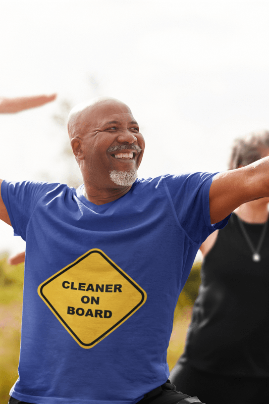 Cleaner on Board, Savvy Cleaner Funny Cleaning Shirts, Standard T-shirt