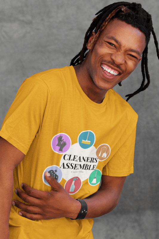 Cleaners Assemble, Savvy Cleaner Funny Cleaning Shirts, Classic T-Shirt