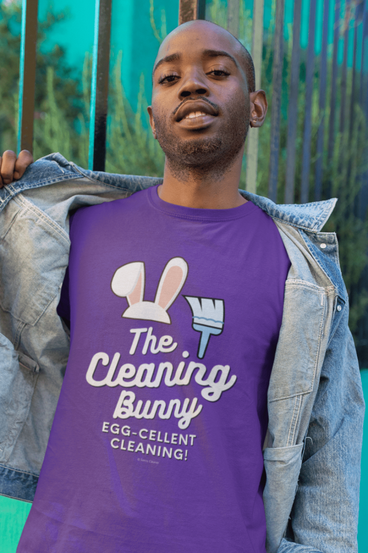 Cleaning Bunny Savvy Cleaner Funny Cleaning Shirts Premium T-Shirt
