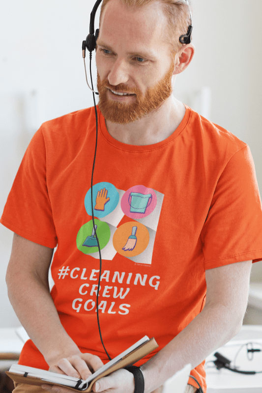 Cleaning Crew Goals Savvy Cleaner Funny Cleaning Shirts Classic T-Shirt